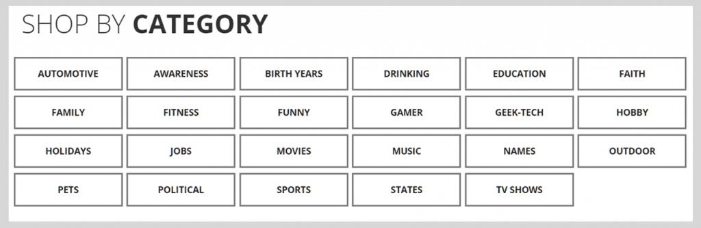 SunFrog Category