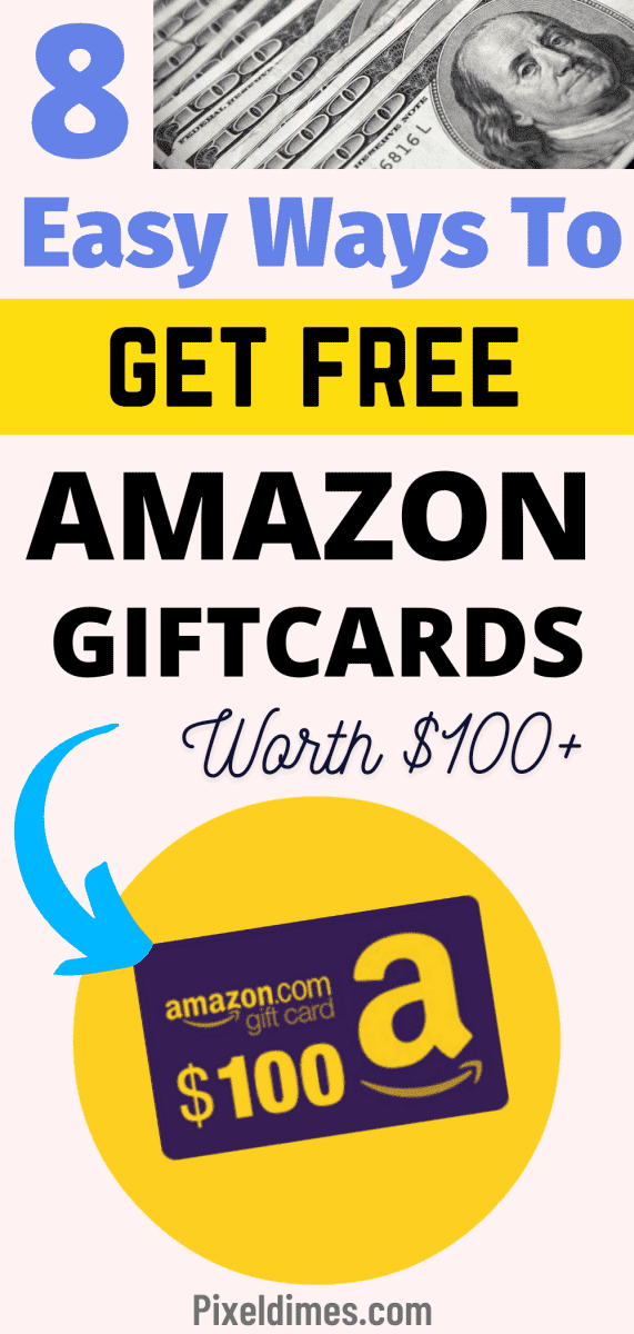 Get Free Amazon Giftcards worth $100 or more