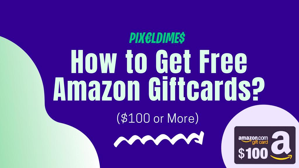 free amazon giftcard