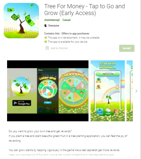 Tree For Money App Review