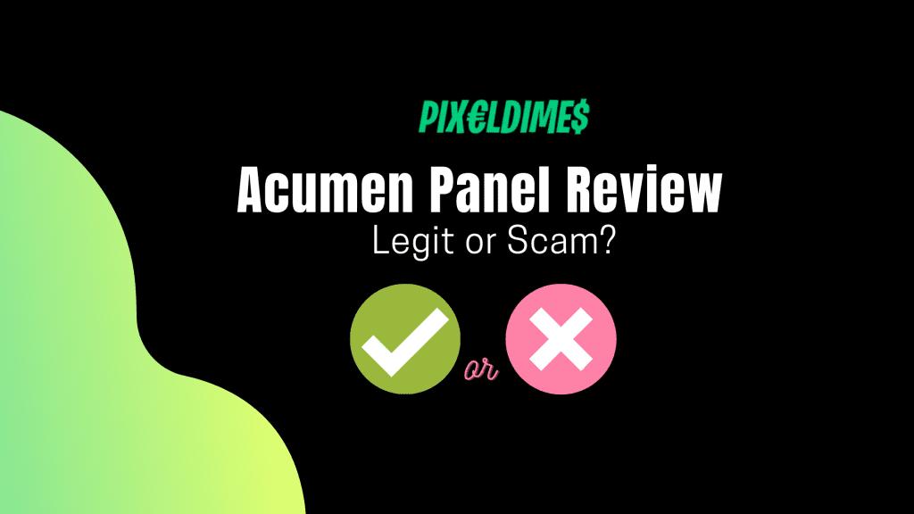 Acumen Panel Review