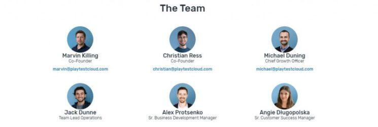 PlayTestCloud Team