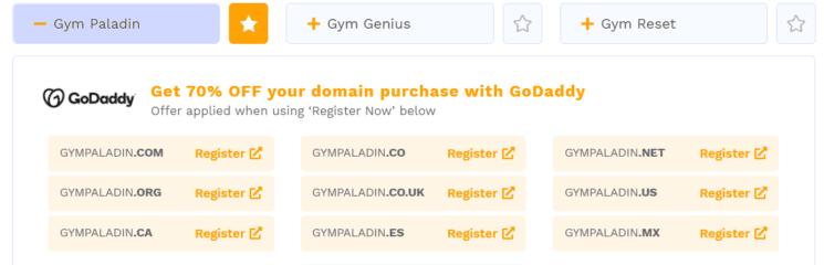 Domain name generator for fiverr gig