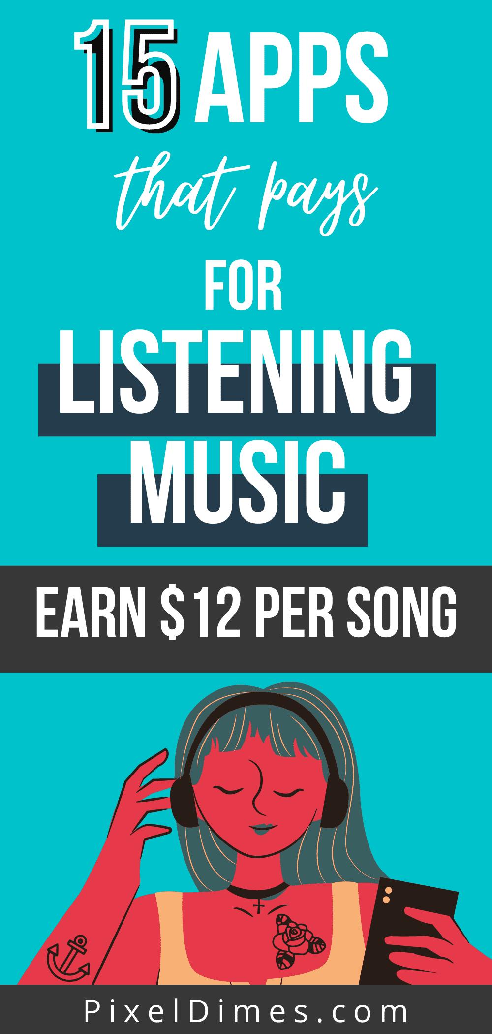 get paid to listen music