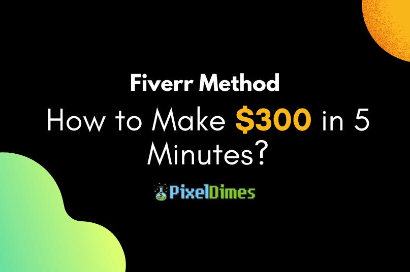 How to make money on fiverr - Fiverr Method