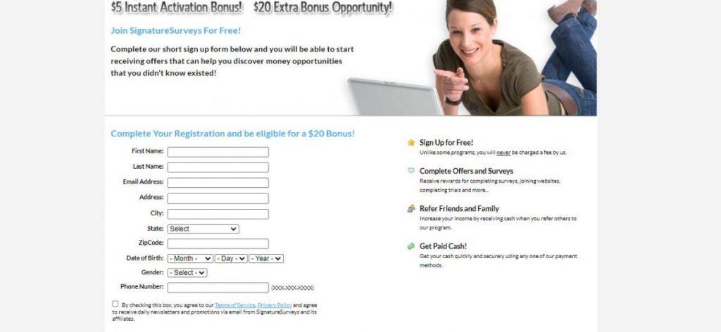 Signature Survey Review