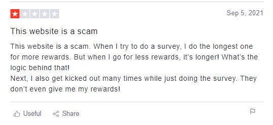 Negative User Reviews